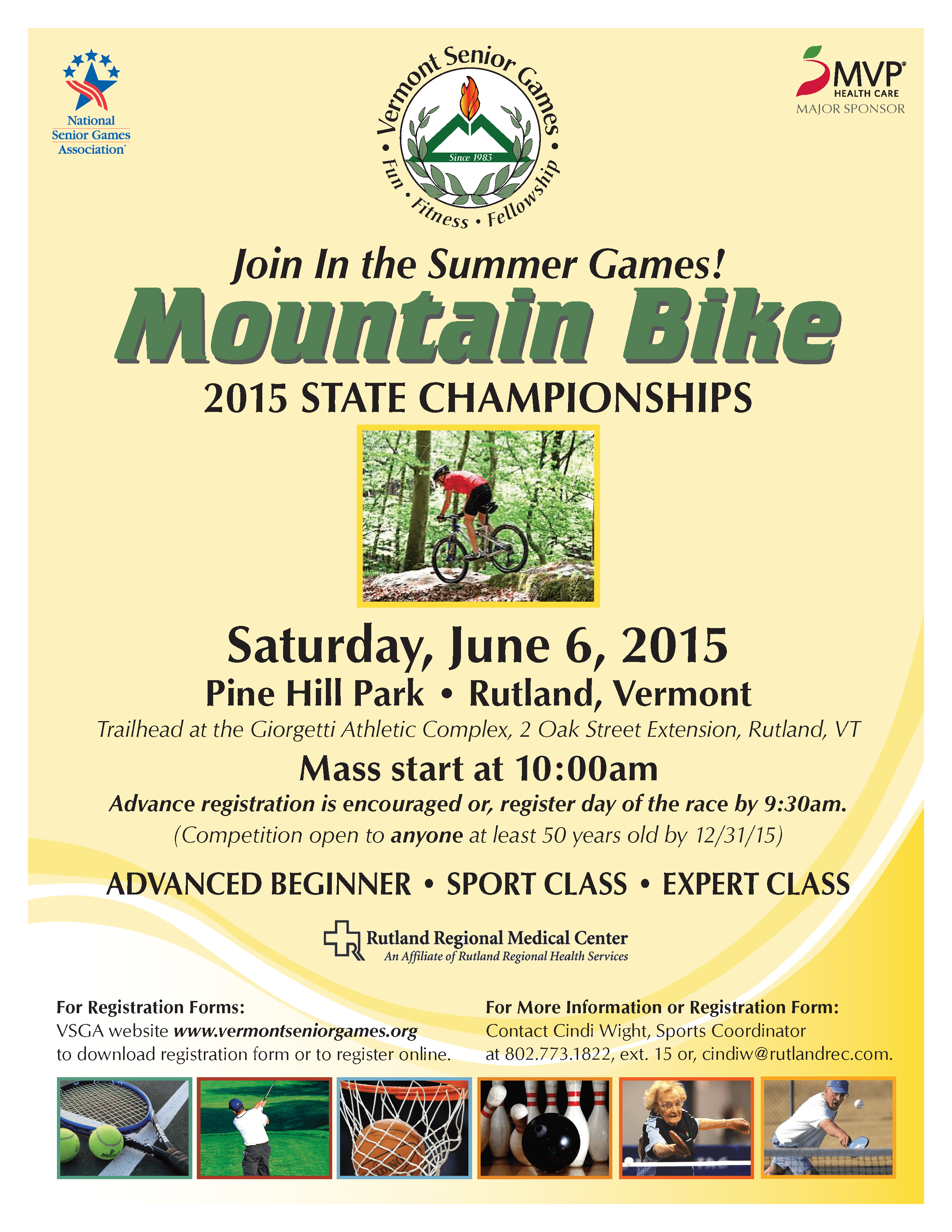 2015 Senior Mountain Bike Race