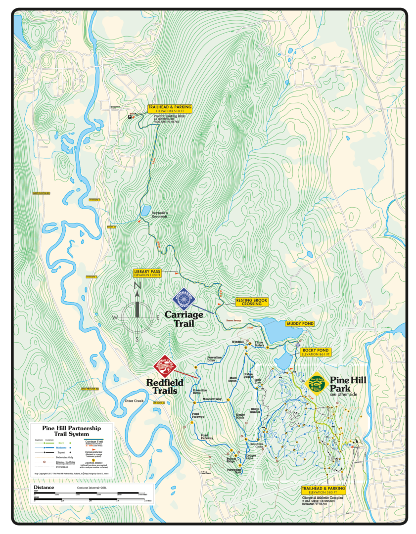 Download A Trail Map | Pine Hill Park on